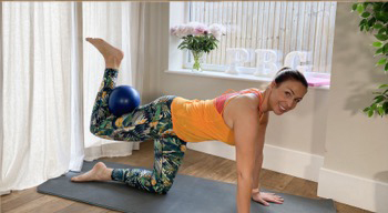 Pregnancy Pilates Ball